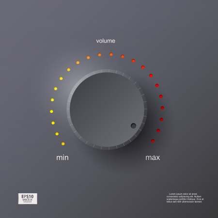 Volume control Illustration