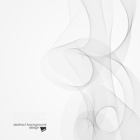 Abstract vector background  Smoke  Illustration