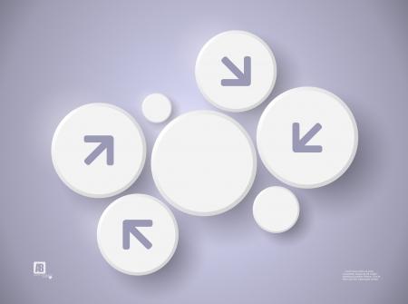 Background design, vector circles Illustration