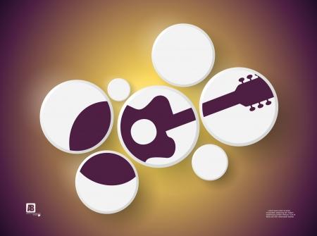 Guitar in circles