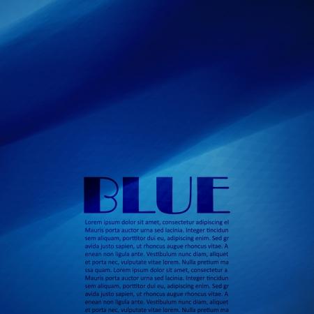 turbulent: Blue Background