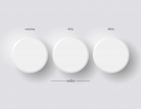 radio 向量圖像