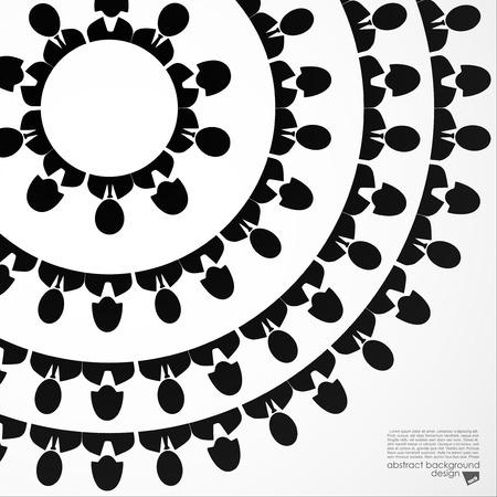 community people: Colorful persone della comunit� le icone in cerchio