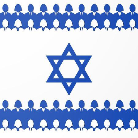 piktogramm: flag of israel Illustration