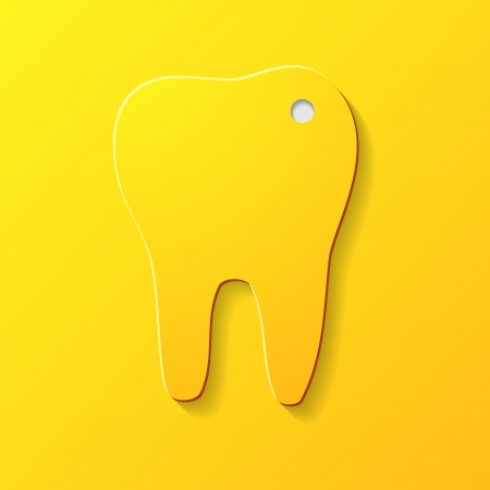 Sick tooth Vector