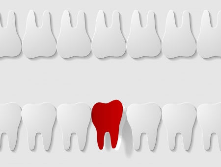 pulpitis: tooth icon