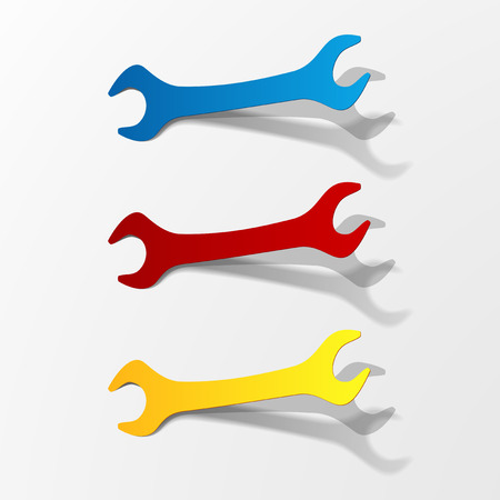 rebuild: Wrench icon set
