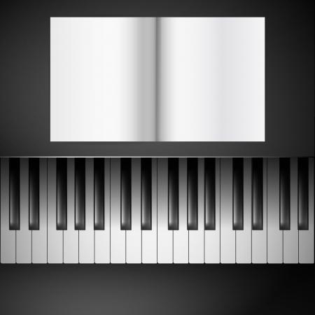 sheetmusic: sheetmusic on piano