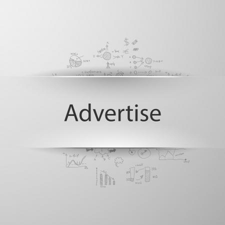 advertise: Advertise Illustration