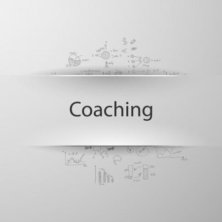 coaching: Entra�nement Illustration