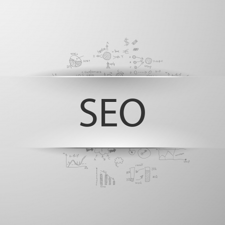 formula concept: Search Engine Optimization Vector