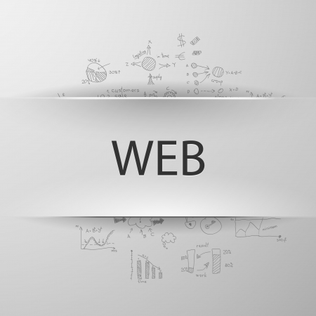 formula concept: WEB Illustration