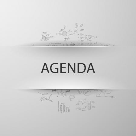 Fórmula concepto: agenda Foto de archivo - 25127373