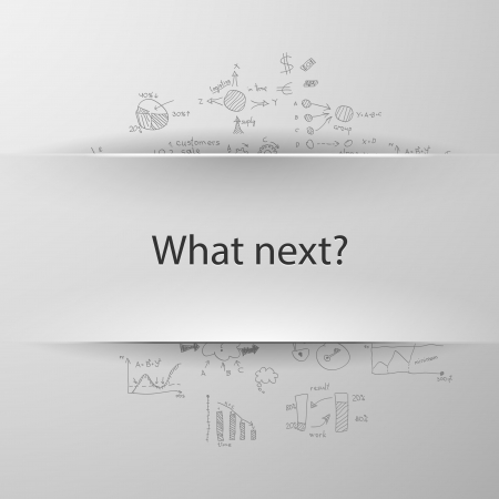 formula concept: What next? Vector