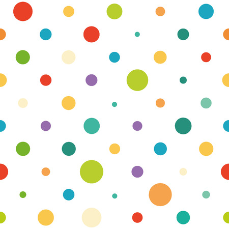 Vector seamless colorful pattern Vector