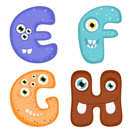 toothy: Funny Toothy Monster Alphabet