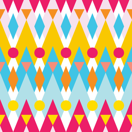 Nahtlose bunte geometrische Muster