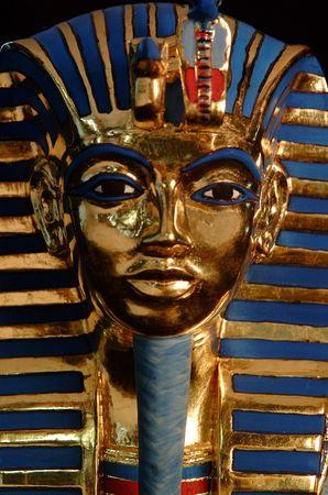 goldfolie: Farao in Goldfolie