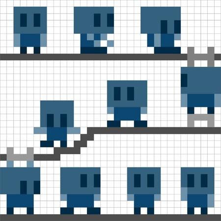 ピクセル ロボット