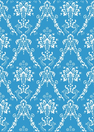 retro seamless pattern background Vector