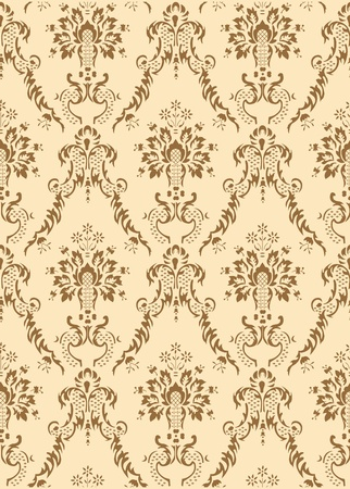 retro seamless vector pattern background Vector