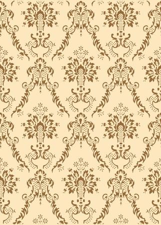 retro seamless vector pattern background Vector