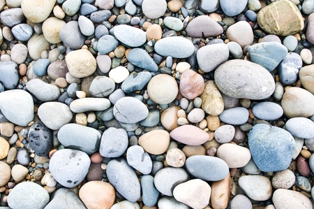 pebble stones. nature background. Stock Photo