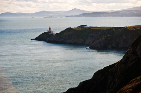 Baily Lighthouse Howth Co. Dublin Ireland. Stock Photo