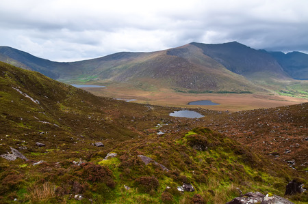 Conor pass in Dingle peninsula Co. Kerry Ireland