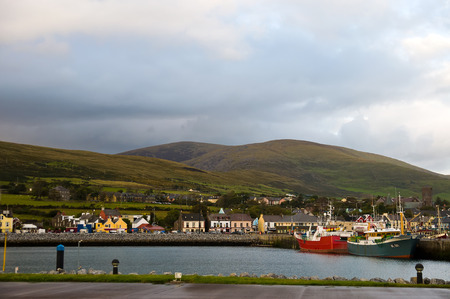co  kerry: Dingle town in Co. Kerry Ireland