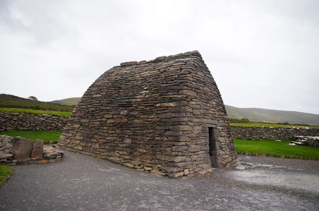 Gallarus oratory. The best preserved early Christian church in Ireland Co. Kerry