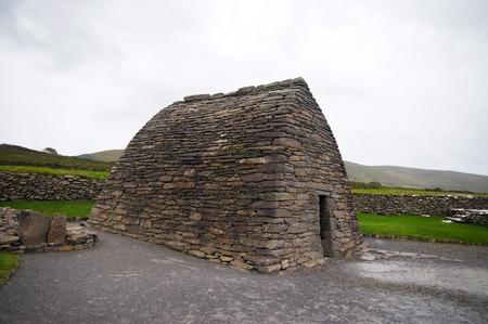 oratoria: Oratorio de Gallarus. La iglesia cristiana primitiva mejor conservados de Irlanda Co. Kerry Foto de archivo