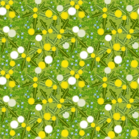 dandelion seamless texture for design