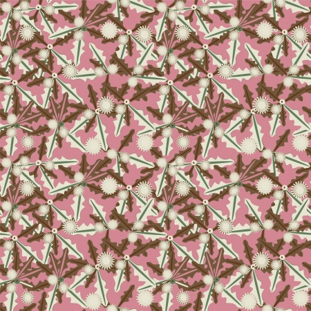 pink abstract seamless pattern Stock Vector - 14555077