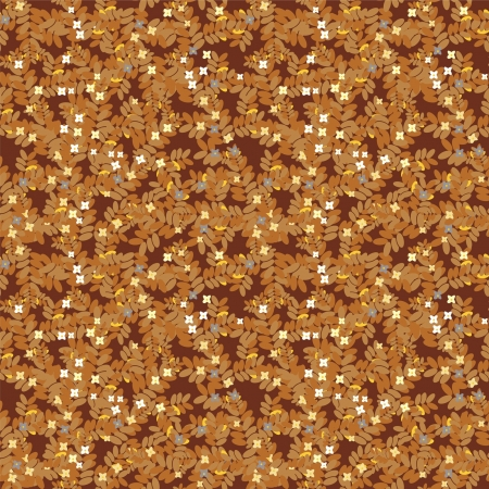seamless pattern in brown colors Stock Vector - 14555085