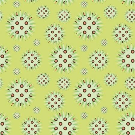 prickly: decorative light green prickly ornament