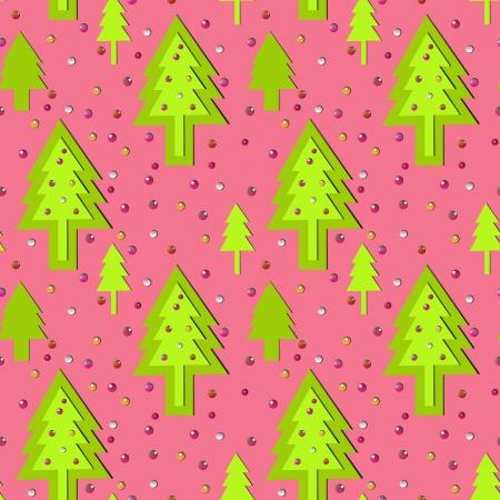 christmass: sin fisuras ornamento rosado del A�o Nuevo