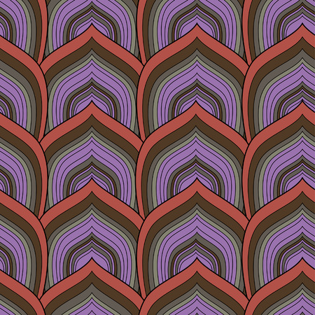 snakeskin: decorative seamless  scale pattern