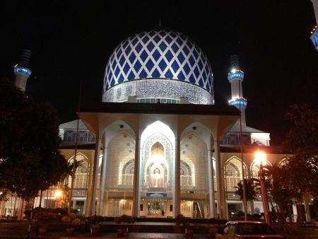 alam: Shah Alam Mosque, Kuala Lumpur, Malaysia