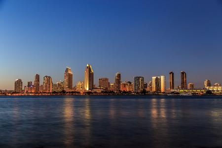 san diego: San Diego skyline