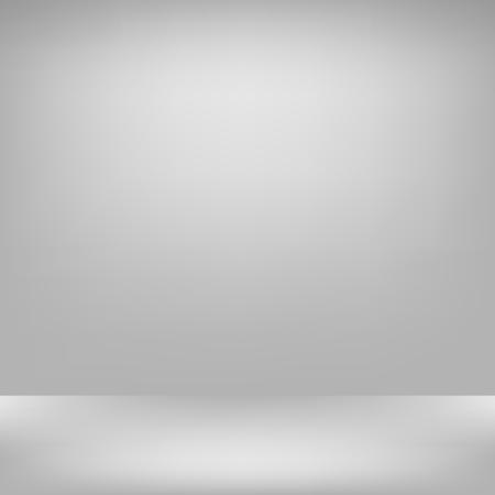 Empty gray studio backdrop Interior  in Vector EPS 10