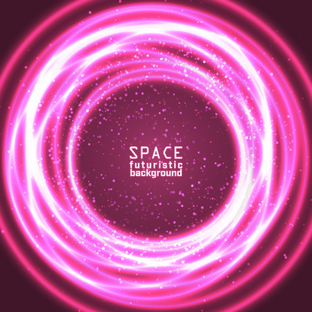 vast: Space background vast expanses of the universe. Vector illustration. Illustration