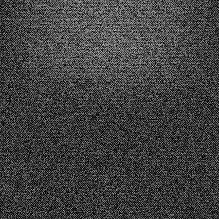 jeans fabric: Texture of black jeans fabric as background. Vector EPS10 Illustration