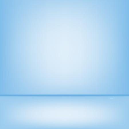 studio backdrop: Empty blue studio backdrop Interior It used to modern design Stock Photo
