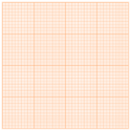 plotting: Graph paper for geometric calculations. For the background design works. Vector illustration