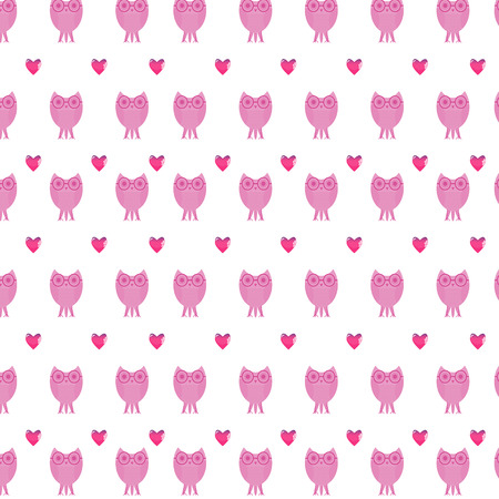 fledgeling: Seamless pattern for wrapping paper Illustration