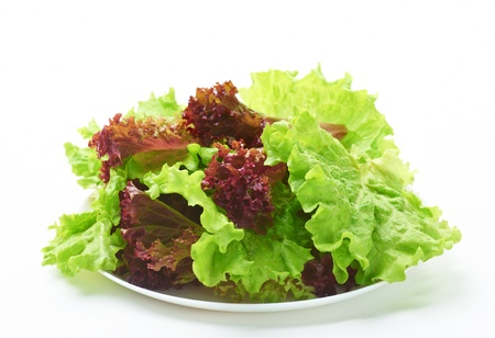 various salad on a plate Stock Photo