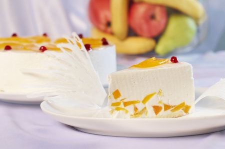 Fruit Cake Dessert, Cheesecake