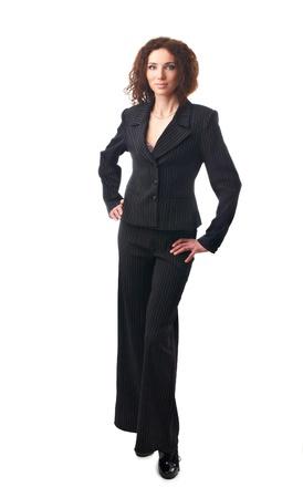 Attractive businesswoman standing