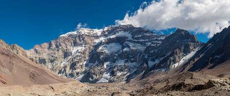 aconcagua: A trekking trip to the Plaza Francia, South Face of Aconcagua